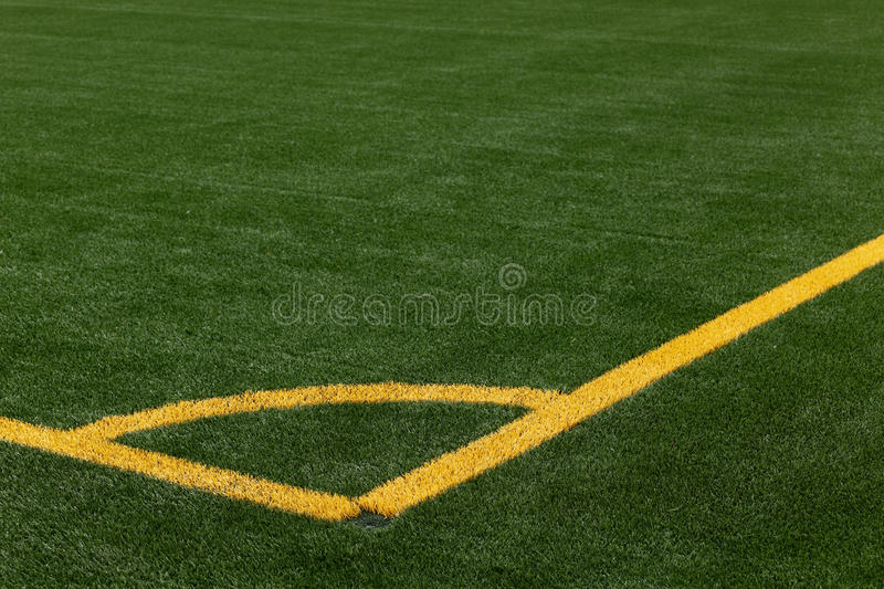 Download Soccer Pitch Corner Marking Royalty Free Stock Photography - Image: 14765007