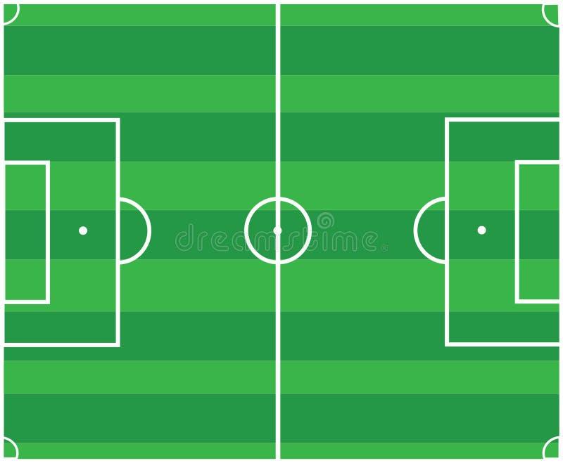 Download Soccer pitch stock vector. Illustration of gate, rectangular - 29914393