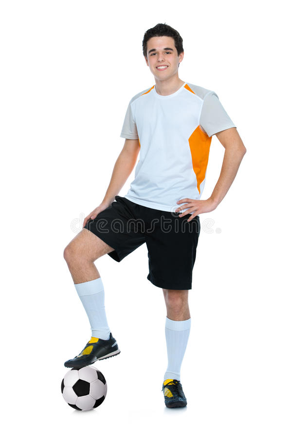 Download Soccer player stock photo. Image of player, isolated - 24735116
