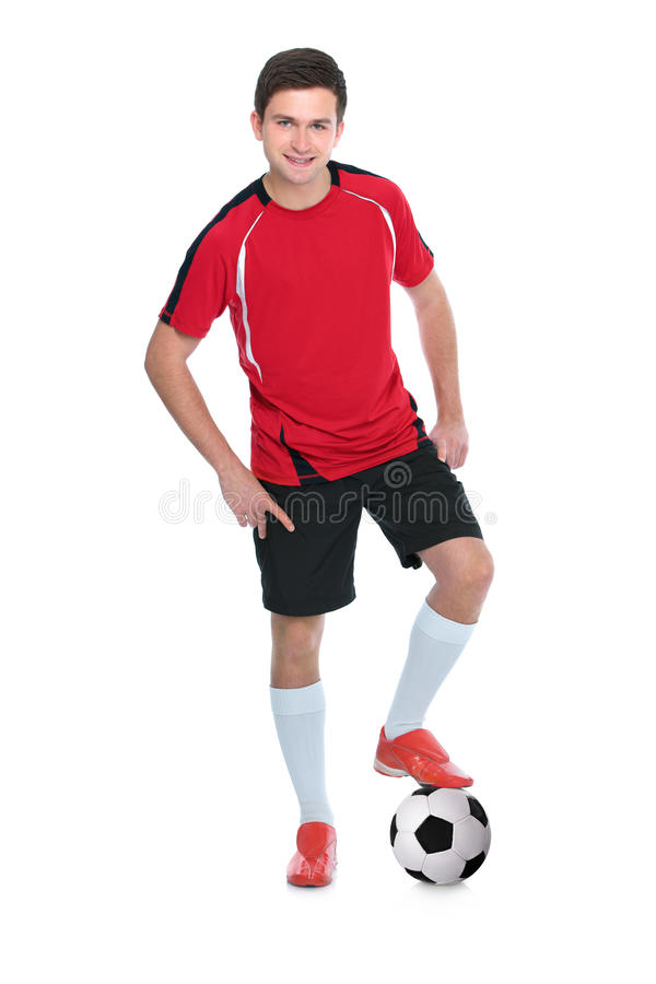 Download Soccer player stock image. Image of fresh, casual, cutout - 25032813
