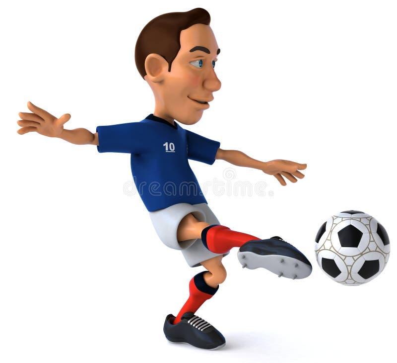 Download Soccer player stock illustration. Illustration of field - 25342032