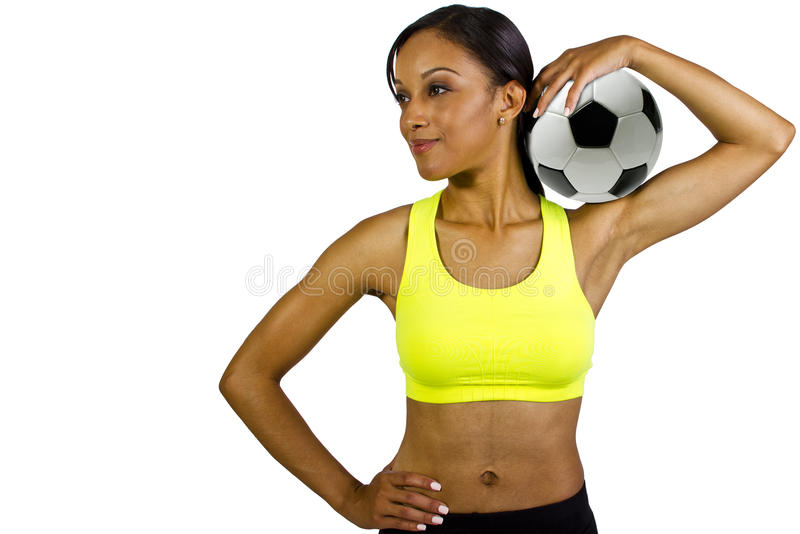 Download Soccer player stock photo. Image of beautiful, active - 27046160