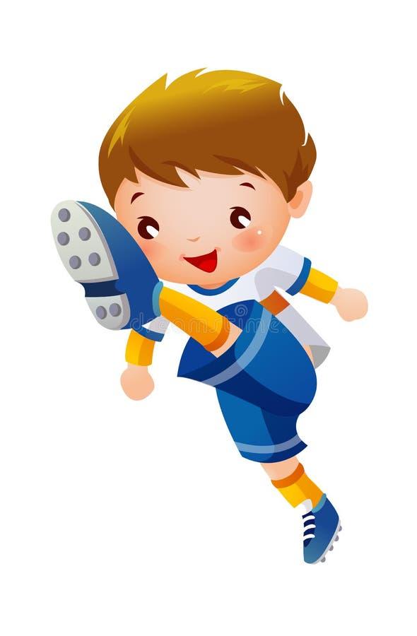 Download Soccer player stock vector. Illustration of children - 27047562