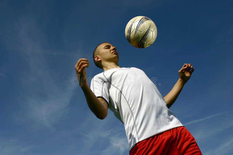 Soccer player #4 stock photography