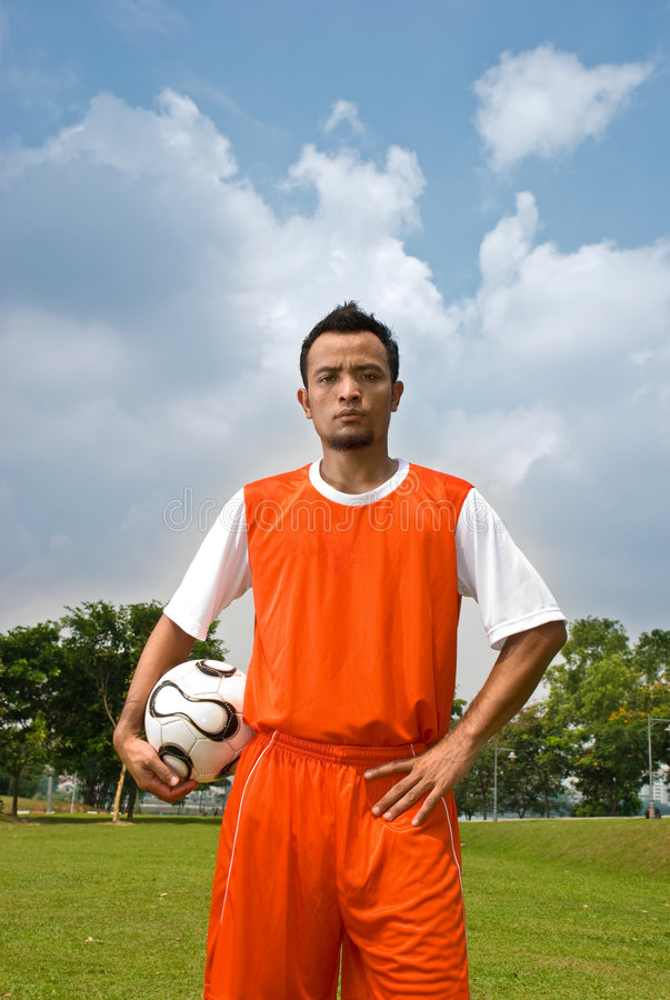Download Soccer player stock photo. Image of field, match, person - 5300586