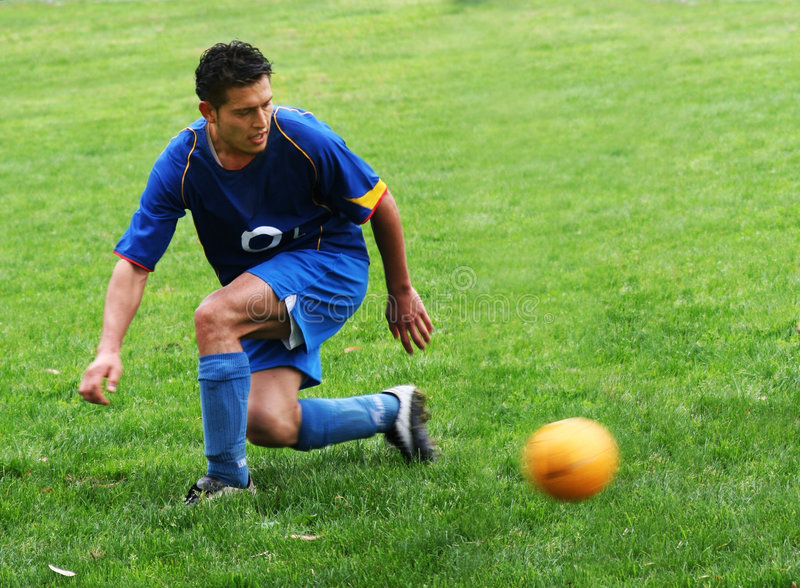 Download Soccer player stock photo. Image of leisure, recreation - 85604