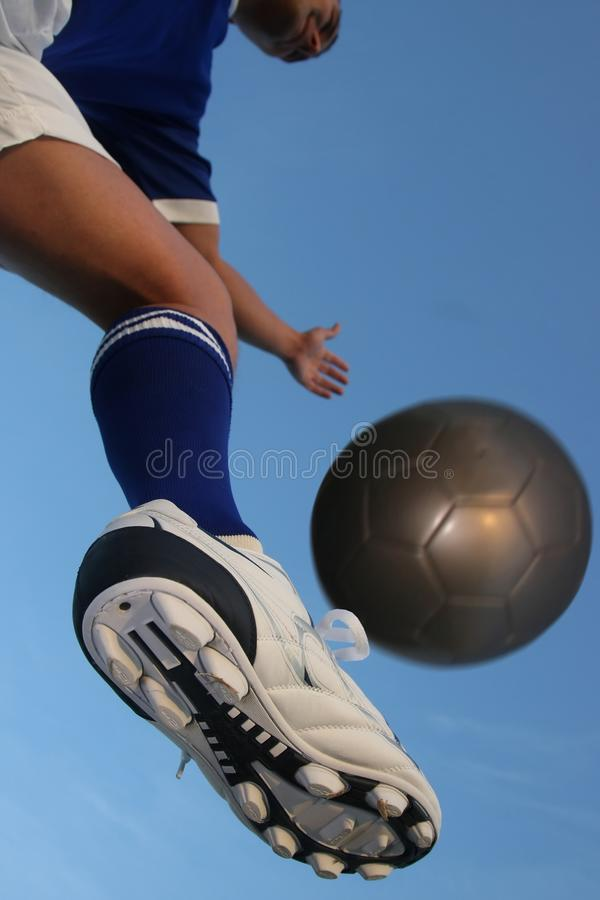 Download Soccer Player and Ball stock photo. Image of active, male - 14654464