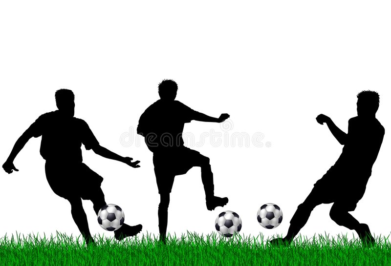 Download Soccer Players Illustration Stock Image - Image: 8841831