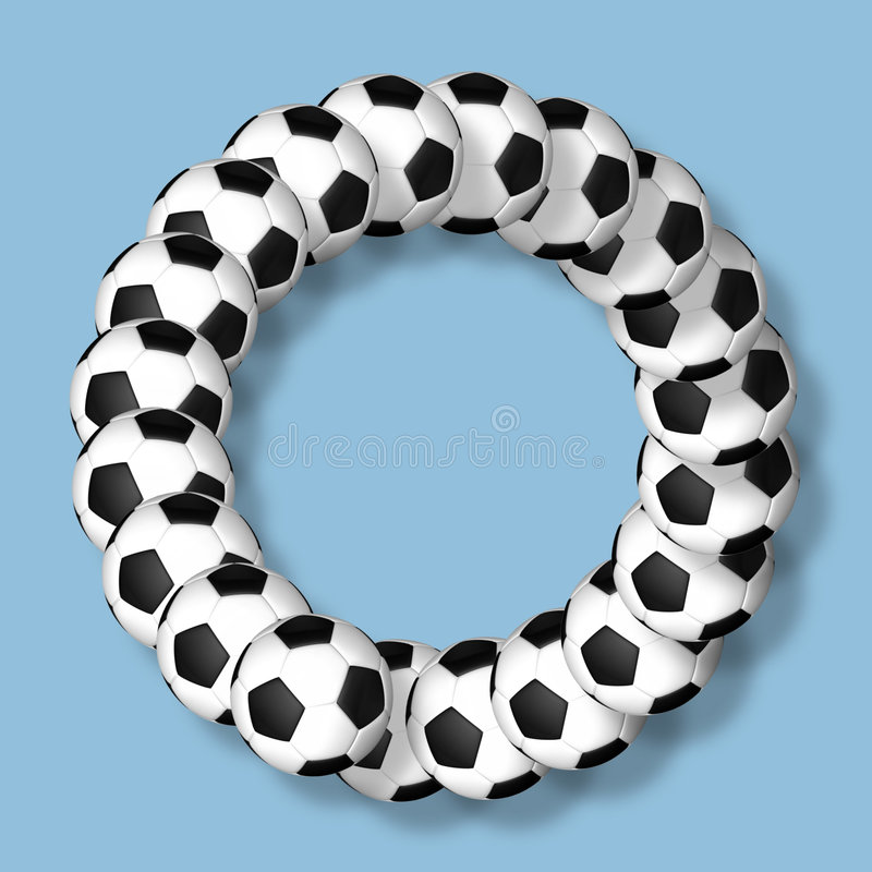 Soccer ring stock photography