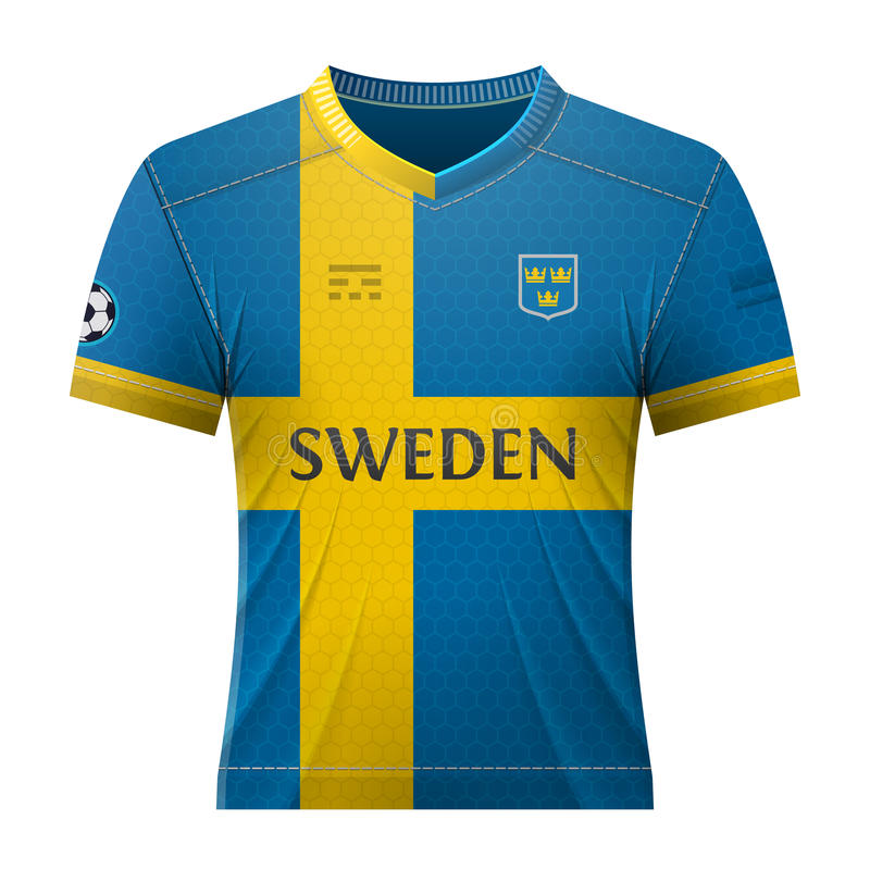 Soccer shirt in colors of swedish flag stock vector illustration download soccer shirt in colors of swedish flag stock vector illustration of activewear sweden malvernweather Choice Image