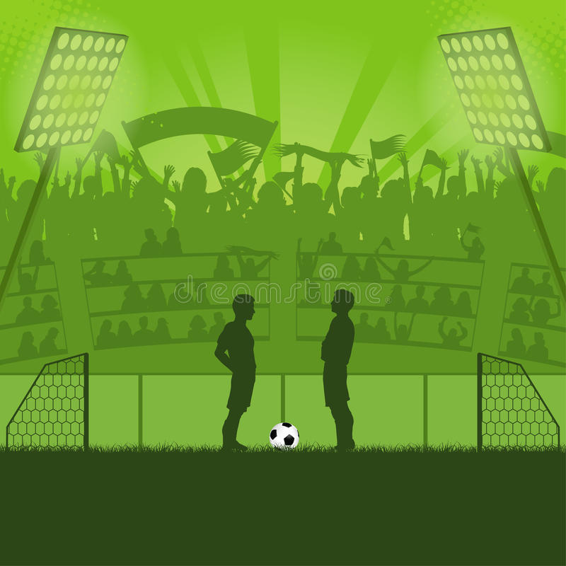 Download Soccer Stadium Royalty Free Stock Photography - Image: 24633037