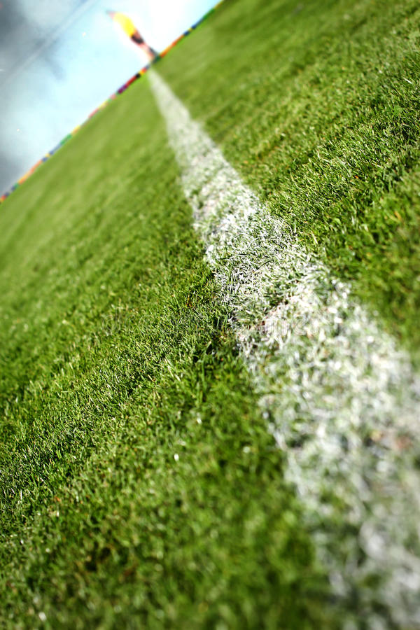 Soccer stadium for the background stock photo