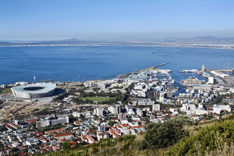 Download The Soccer Stadium In Green Point, Stock Photo - Image: 12544272
