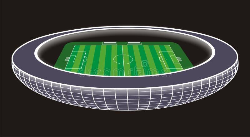 Soccer Stadium illustration