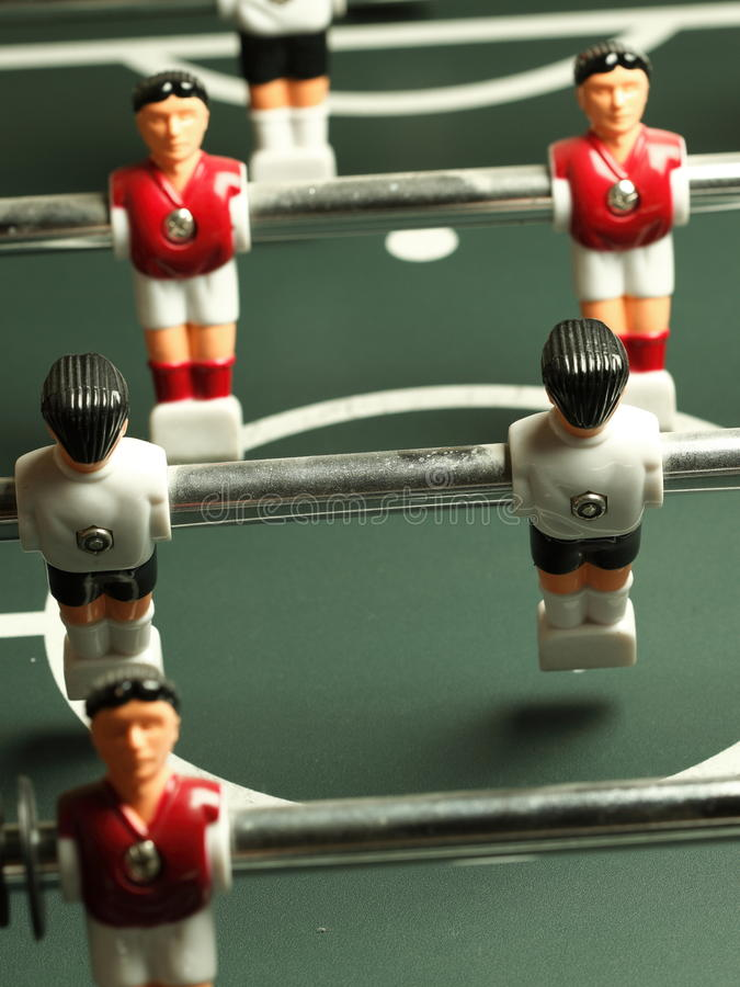 Soccer Table Game Royalty Free Stock Image