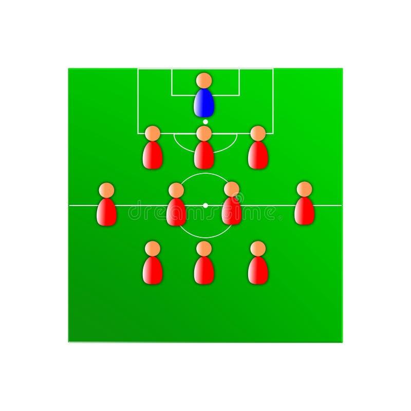 Soccer tactics stock images