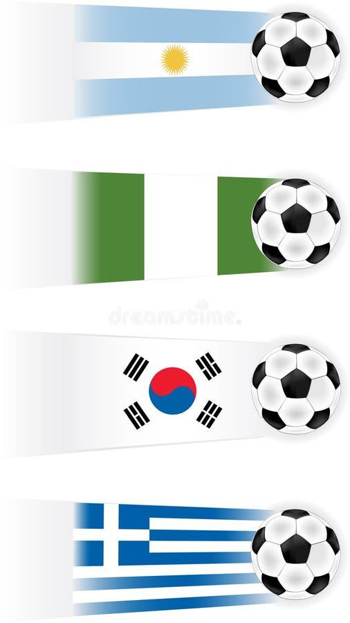 Soccer Teams Illustrations Stock Photo