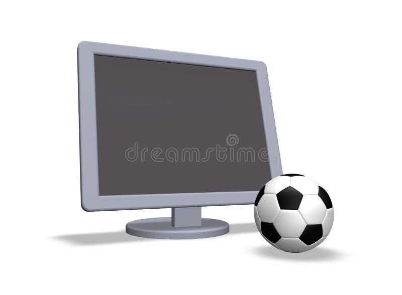 Download Soccer tv stock illustration. Image of match, television - 13528607