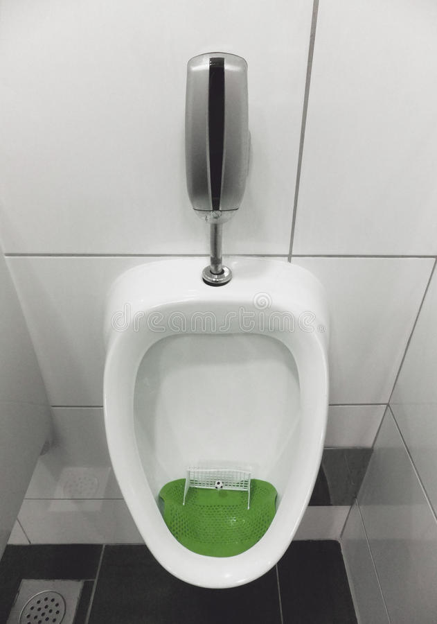 Soccer Urinal Royalty Free Stock Photo