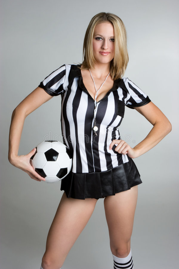 Soccer Woman Stock Images
