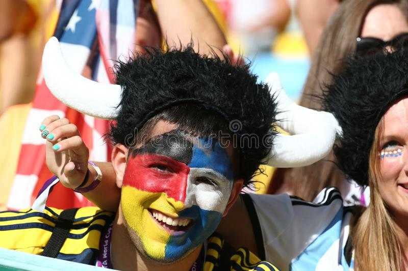 Soccer world cup royalty free stock images