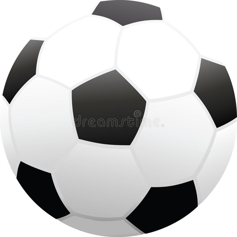 Soccerball ilustração stock
