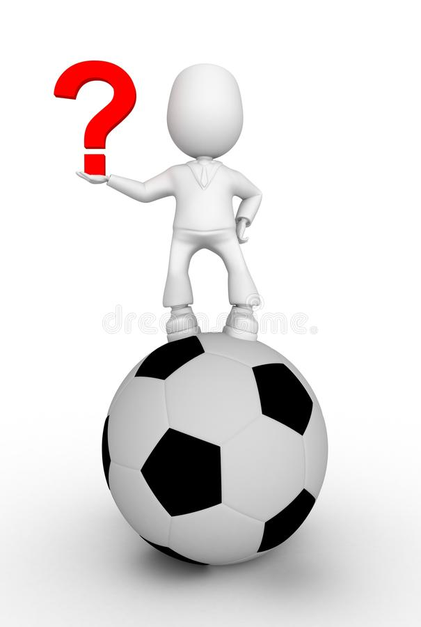 Download Soccerball stock illustration. Illustration of play, personage - 12349303