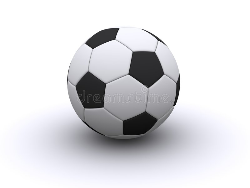 Soccerball illustration de vecteur