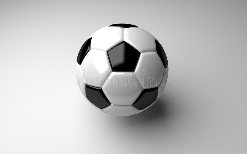 Soccerball royalty-vrije stock afbeelding