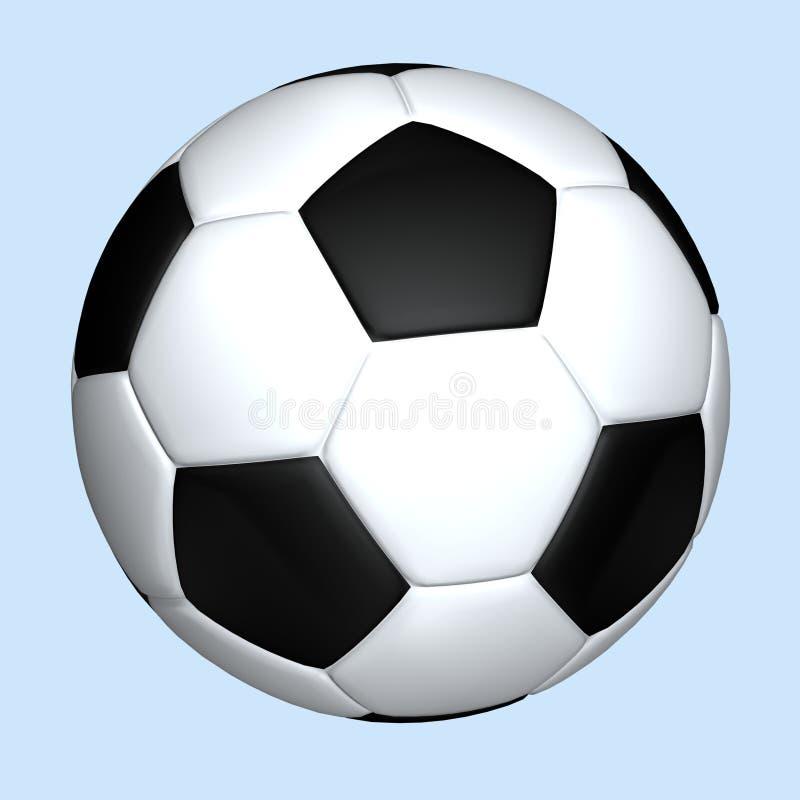 Soccerball stock de ilustración