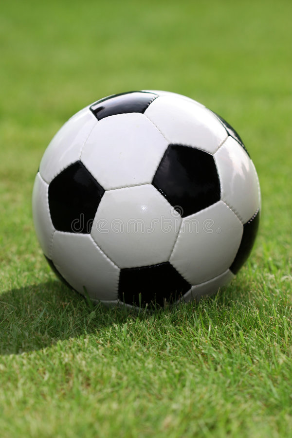 soccerball royaltyfria foton