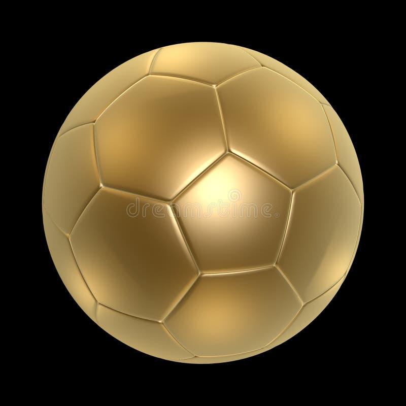 Soccerball de oro libre illustration