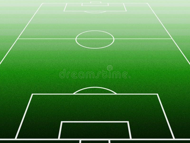 Soccerfield illustrazione di stock