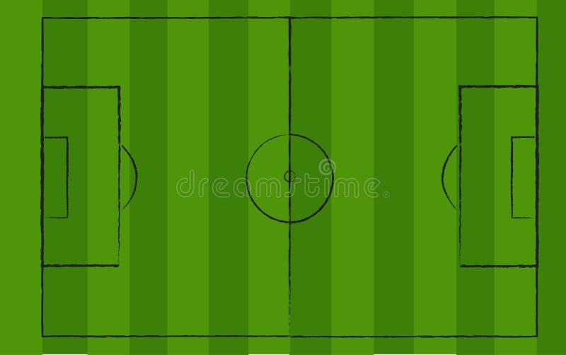 soccerfield ελεύθερη απεικόνιση δικαιώματος
