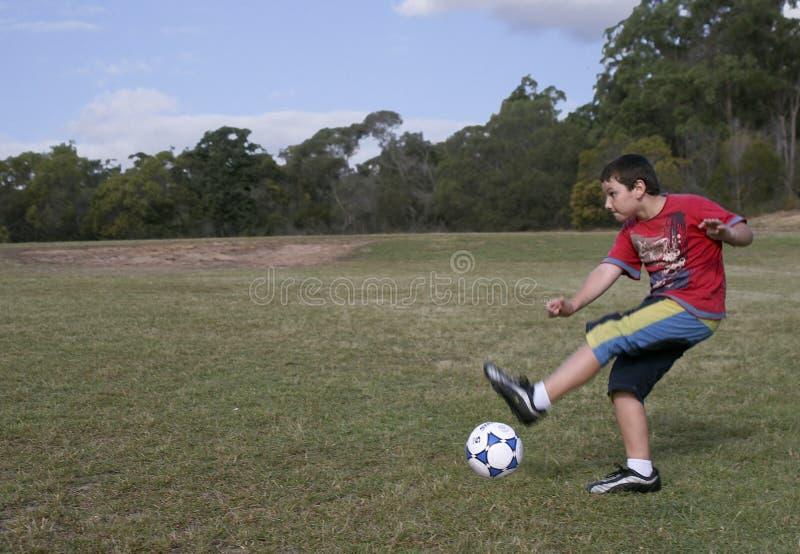 Soccermiss Obraz Stock