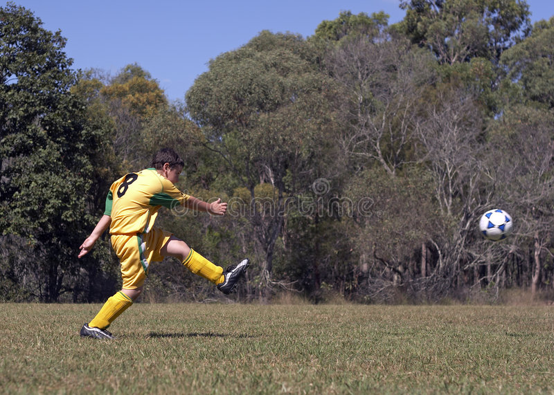 Download SoccerNo8 Royalty Free Stock Photos - Image: 724198