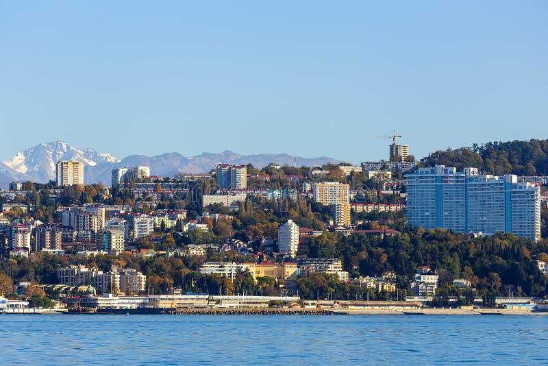 Sochi, ο περίπατος πόλεων στοκ εικόνες με δικαίωμα ελεύθερης χρήσης