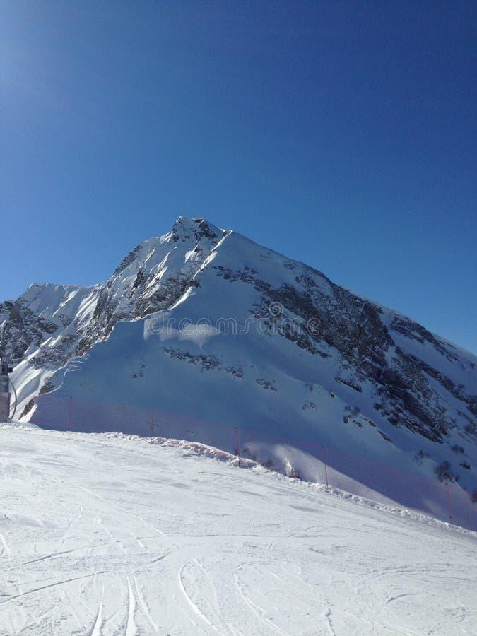 Sochi στην κορυφή στοκ εικόνα με δικαίωμα ελεύθερης χρήσης