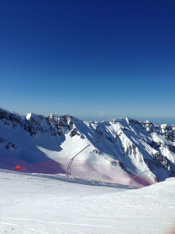 Sochi στην κορυφή στοκ φωτογραφία με δικαίωμα ελεύθερης χρήσης
