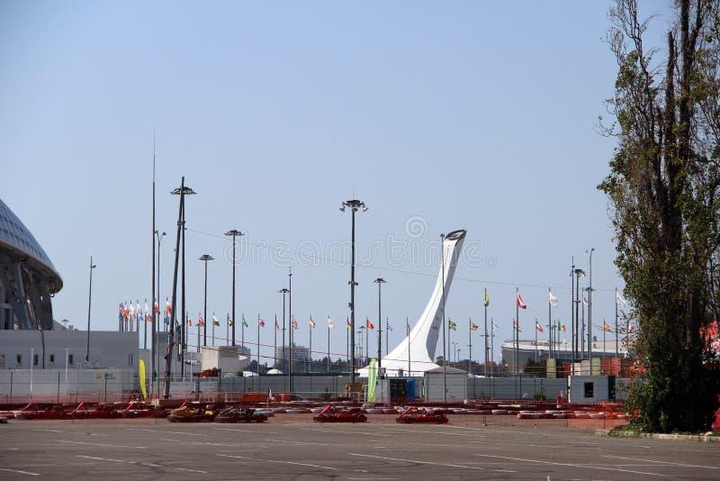 Sochi royaltyfria bilder