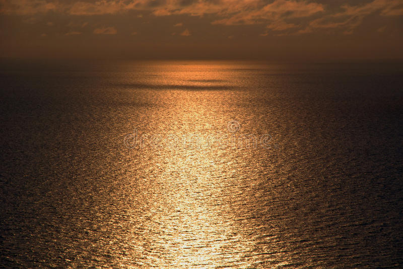 Sochi Black Sea Sunset royalty free stock photo