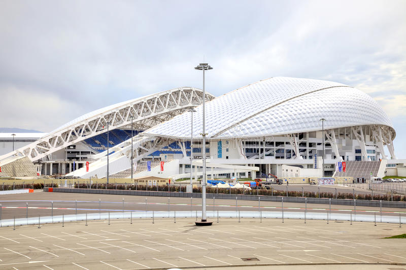 Sochi Fisht o Estádio Olímpico fotos de stock