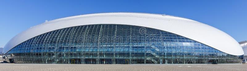 Sochi olympic park Lättheter och dragningar royaltyfri fotografi