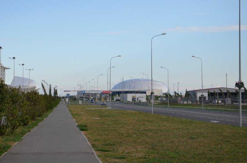 Sochi, Rusia - 16 de mayo de 2016: Parque de Sochi - parque temático en la ciudad de Sochi fotos de archivo libres de regalías