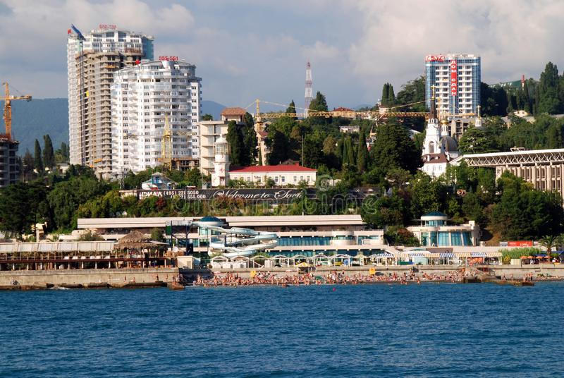 Sochi in Russia royalty free stock image