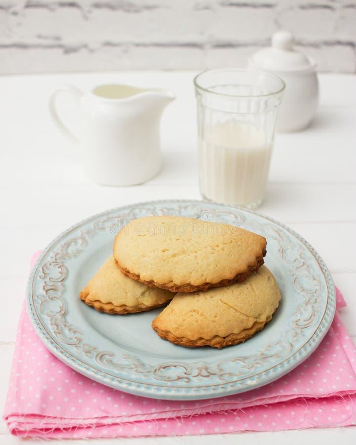 Sochni tradizionale russo delle torte di biscotto al burro fotografie stock