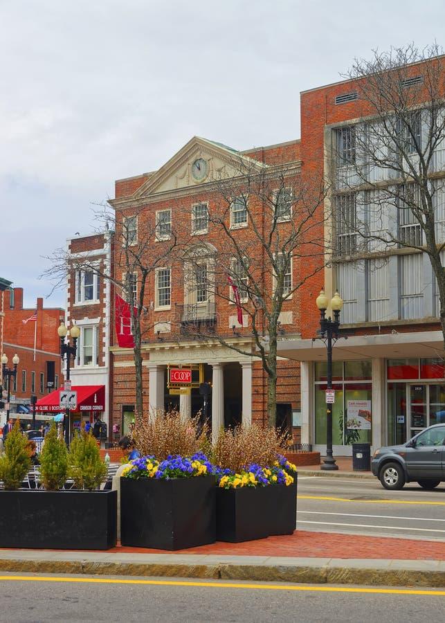 Société coopérative de Harvard à Cambridge dans le Massachusetts images libres de droits