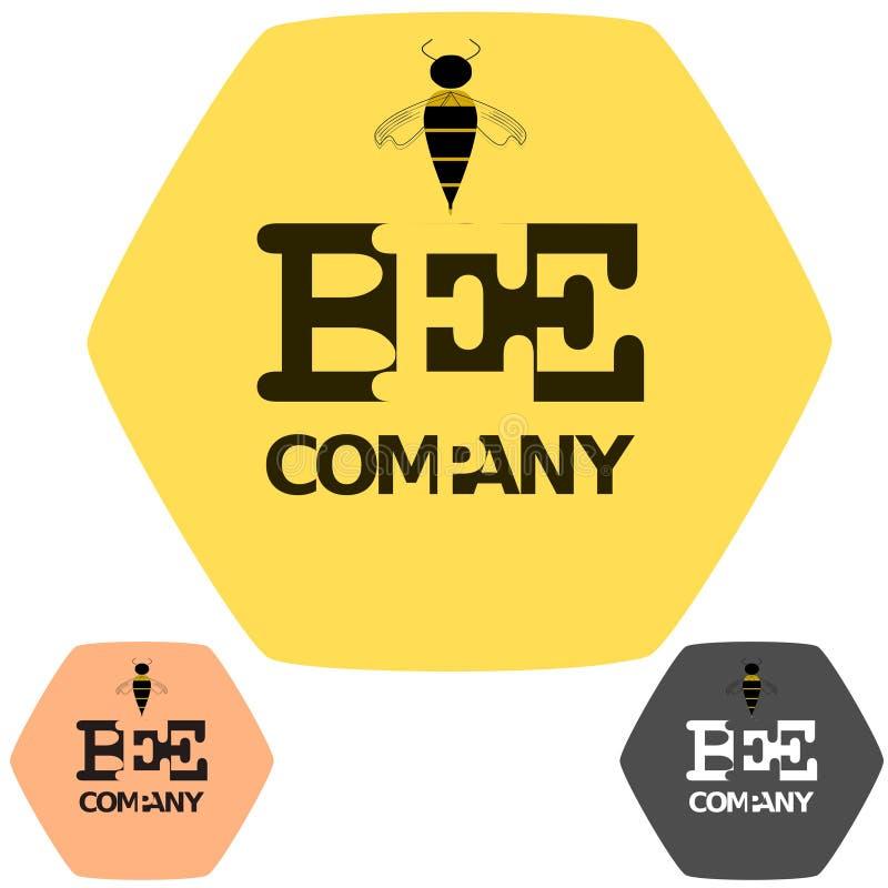 Société d'abeille Trois dans un photographie stock