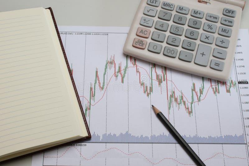 Société de graphique de gestion, ou échange image stock