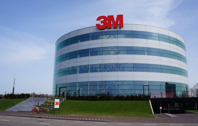 société de 3M à Delft, Pays-Bas image stock